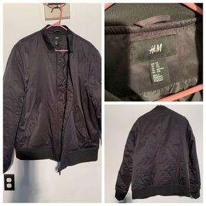 H & M Men's XXL Black Jacket